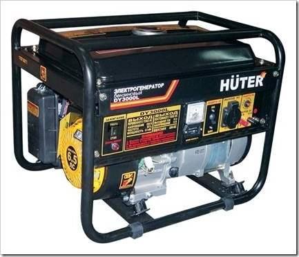 Как выбрать бензиновый генератор для дома.