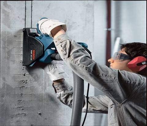 Как штробить стены под проводку.