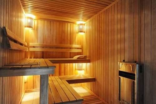Как сделать освещение в бане?