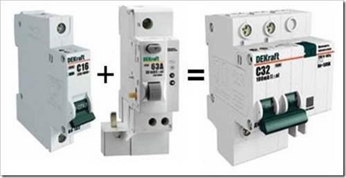 Как подключить двухполюсный автомат
