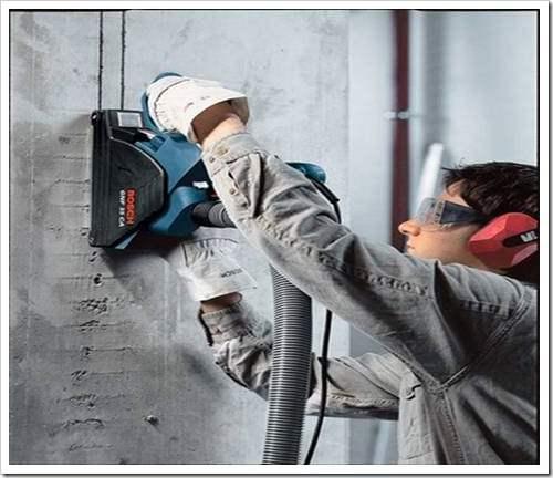 Как штробить стены под проводку без пыли.