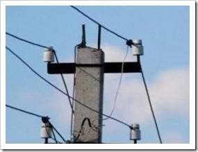Как соединить провода на столбе