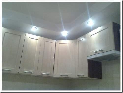 Как сделать освещение на кухне.