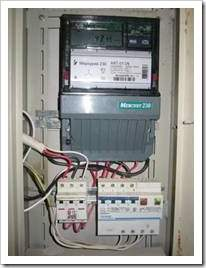 Как подключить автоматы к счетчику