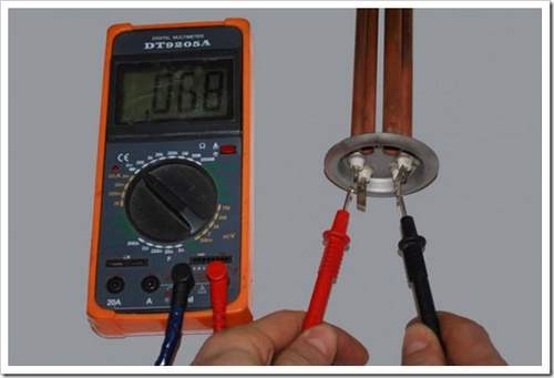 Как проверить ТЭН водонагревателя