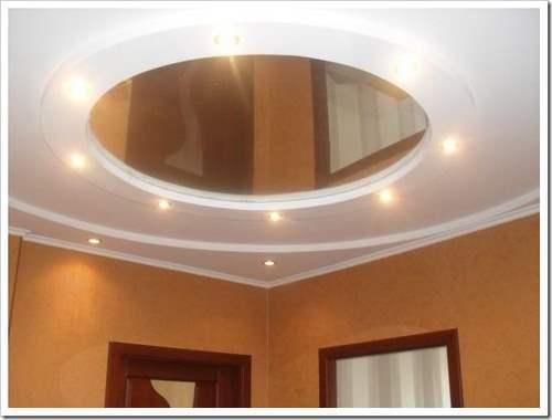 Как сделать освещение на потолке.