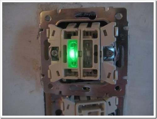 Как подключить двойной выключатель Lezard