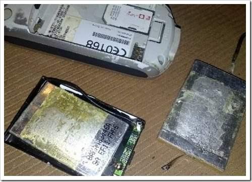 Ремонт аккумулятора сотового телефона 13