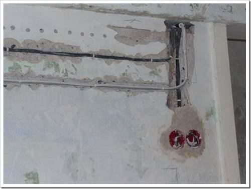 как пробросить проводку по квартире в хрущёвке
