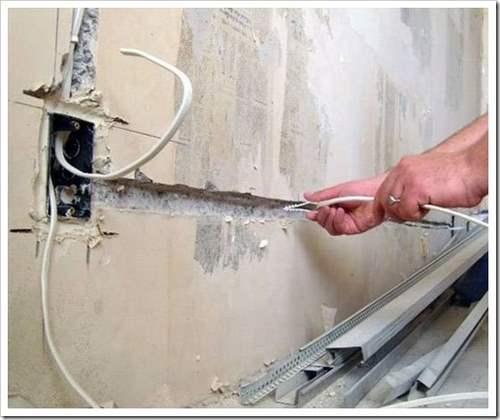 Способы укладки кабелей по квартире.