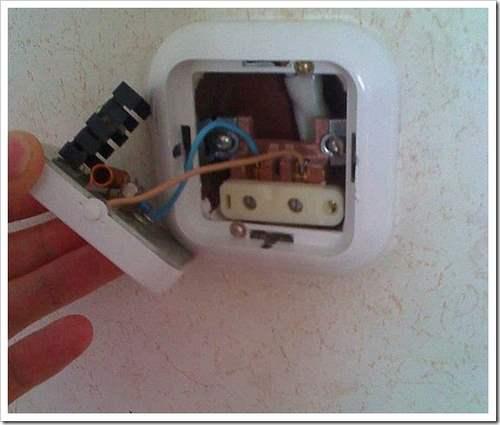 Монтаж выключателя