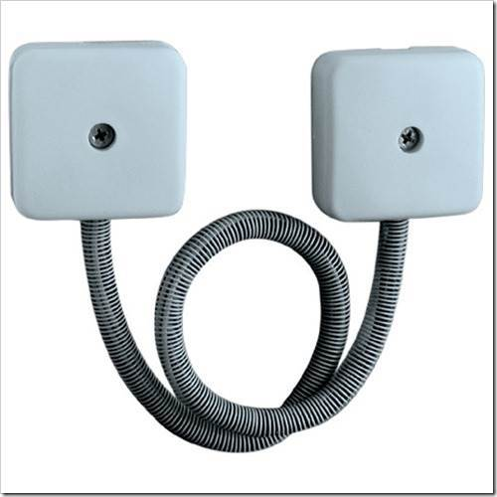 Выбор и монтаж гибкого кабель канала для перехода на дверь.