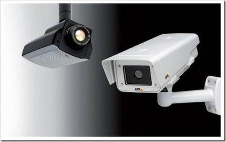 Системы видеонаблюдения за территорией.