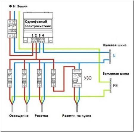 Счетчики электроэнергии меркурий схема подключения фото 639