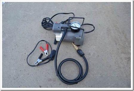 Как подключить компрессор к аккумулятору?