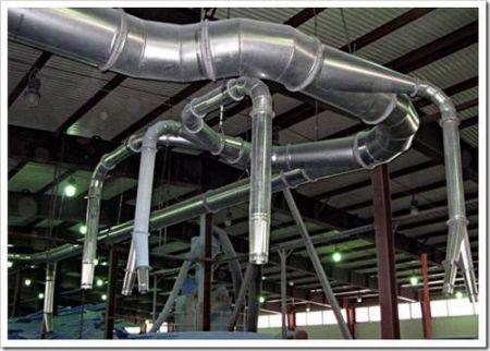 Какие виды вентиляционного оборудования присутствуют