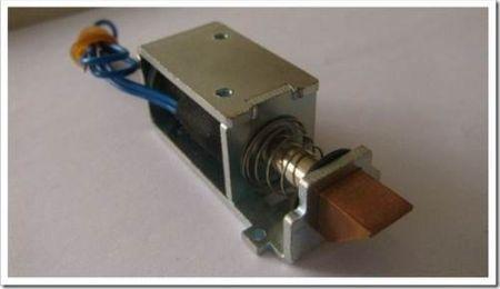 Коструктив электромагнитного замка