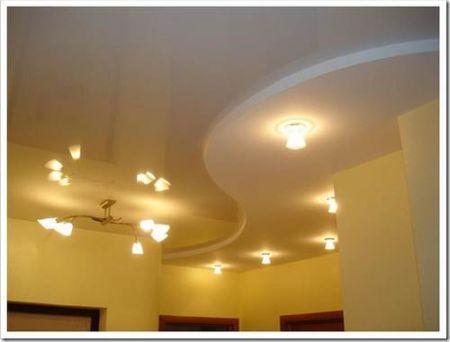 Преимущества потолочных светильников