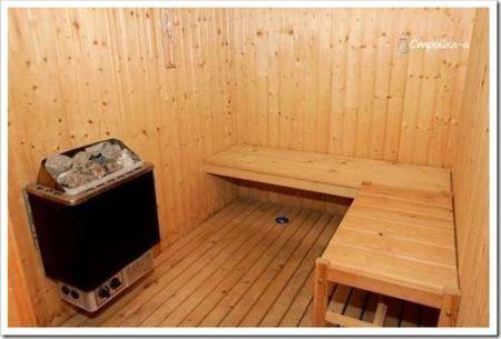 Комфорт и функциональность: баня на электричестве