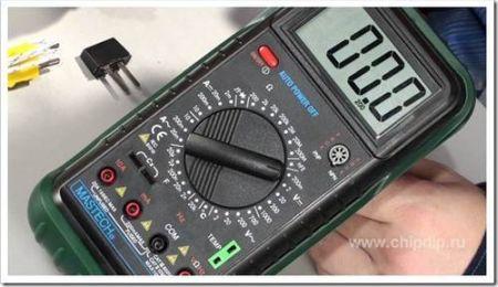 Как работать с мультиметром?
