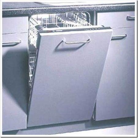 Стоит ли встраивать посудомоечную машину в кухонный гарнитур?