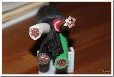 Использование кабеля в бытовых условиях
