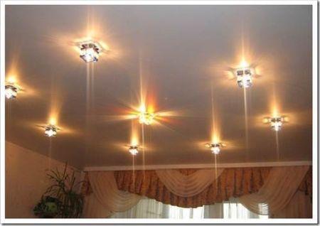 Монтаж встраиваемых светильников в подвесной потолок