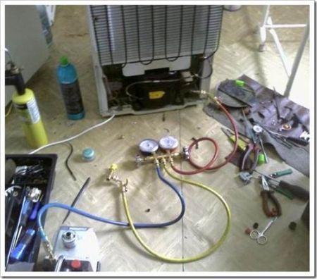 Замена терморегулятора и реле