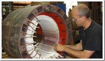 Капитальный ремонт электродвигателя: демонтаж ротора