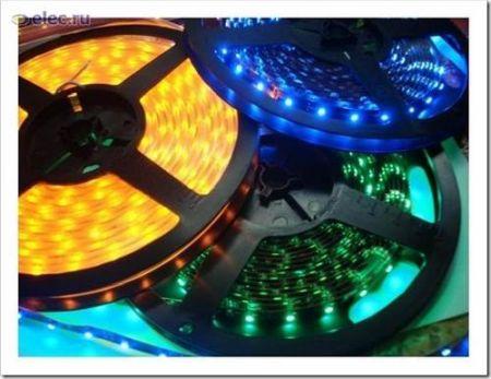 Широта рынка светодиодных лент