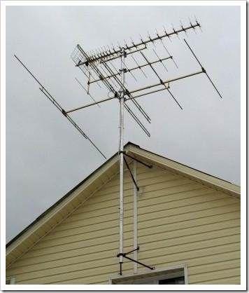 Виды антенн: какая подойдёт для использования на даче?