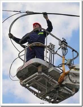 Особенности электромонтажных работ на высоте