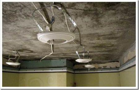 Риск разрывы натяжного потолка