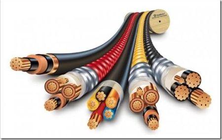 Различные виды кабелей