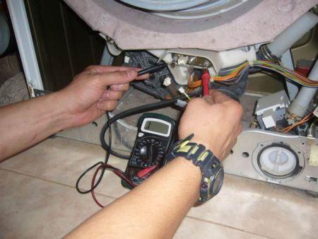 Как проверить тэн стиральной машины