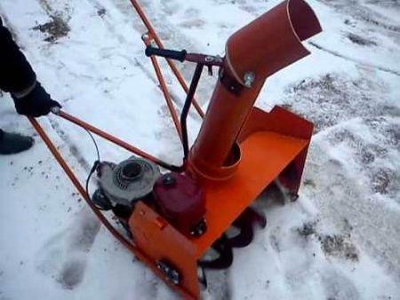 Как сделать снегоуборщик своими руками на мотоблок