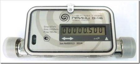 Принцип работы счётчика газа