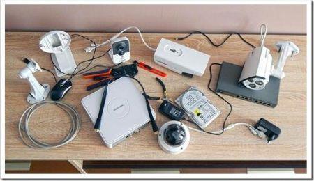 Принципы установки системы видеонаблюдения