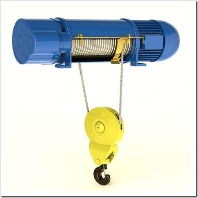 Преимущества использования электротельфера