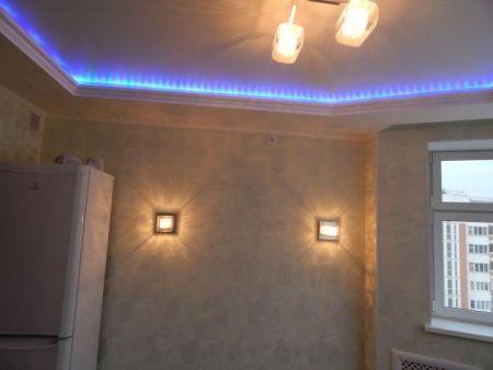 Подсветка пластиковых окон светодиодной лентой