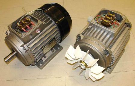Особенности асинхронных двигателей