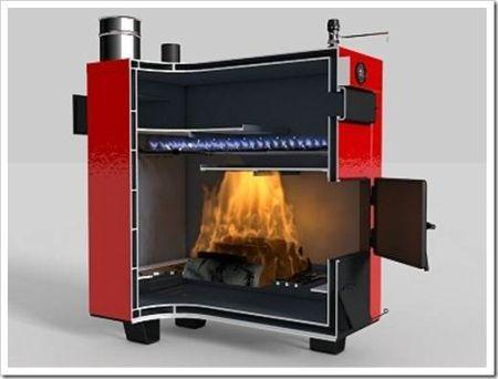 Пиролизная печь длительного горения своими руками видео