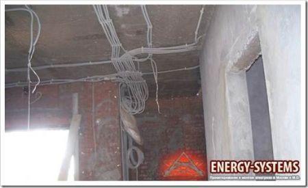 Другой подход в организации проводки на потолке
