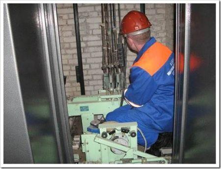 Этапы, на которые подразделяется процедура замены лифта
