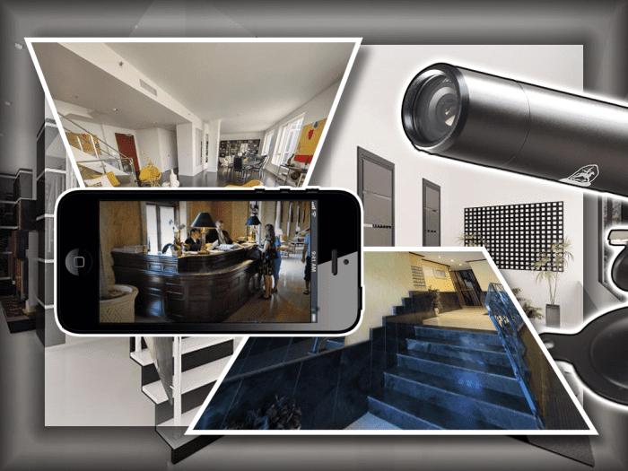 Как сделать видеонаблюдение для входной двери квартиры