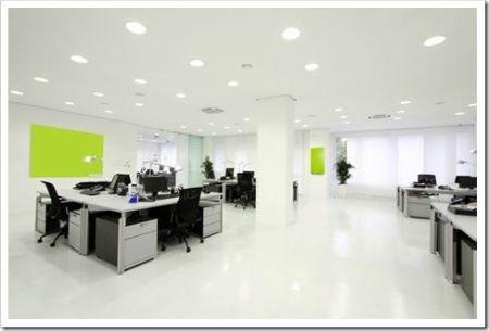 Различные кабинеты в офисе должны освещаться по-разному