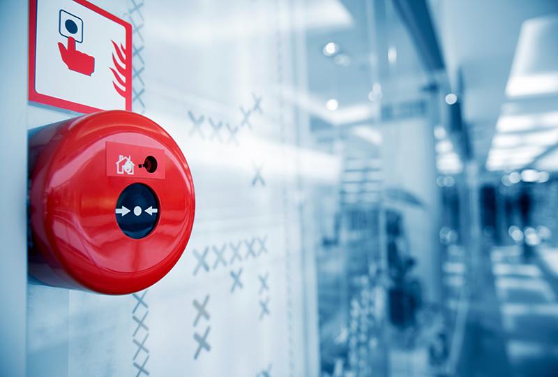 Монтаж систем оповещения о пожаре