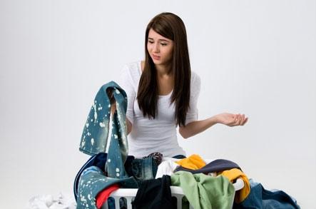 Очищаем одежду