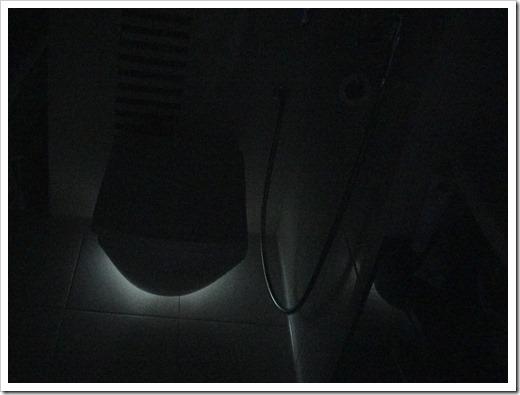 Минимальное освещение в  санузле