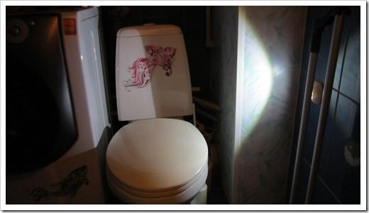 Выборочное освещение в санузле